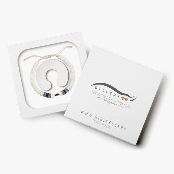 بسته بندی دستبند طلا زنانه آیلند