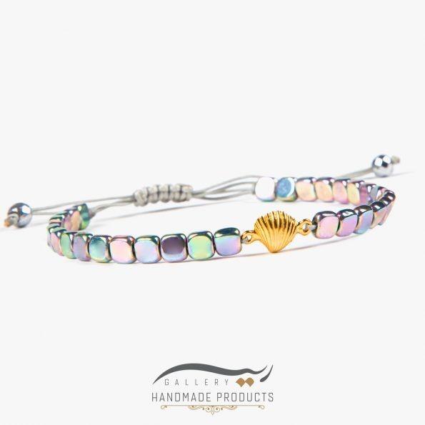 تصویر دستبند طلا زنانه فلینا