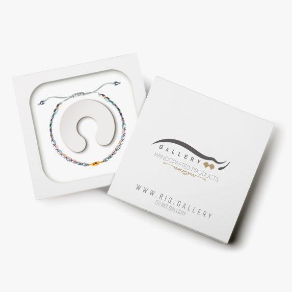 بسته بندی دستبند طلا زنانه فلینا