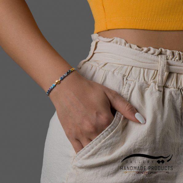 مدل دستبند طلا زنانه فلینا