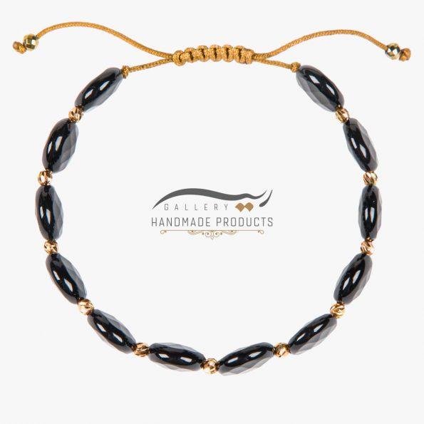 عکس دستبند طلا زنانه الهه شب