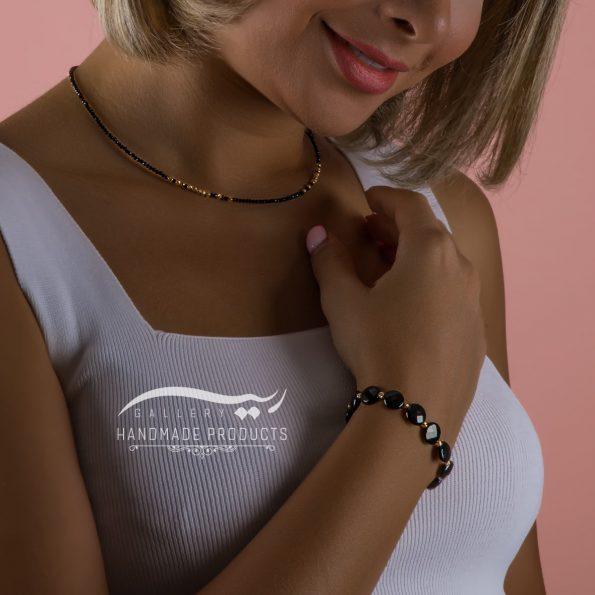 مدل دستبند طلا زنانه الهه شب