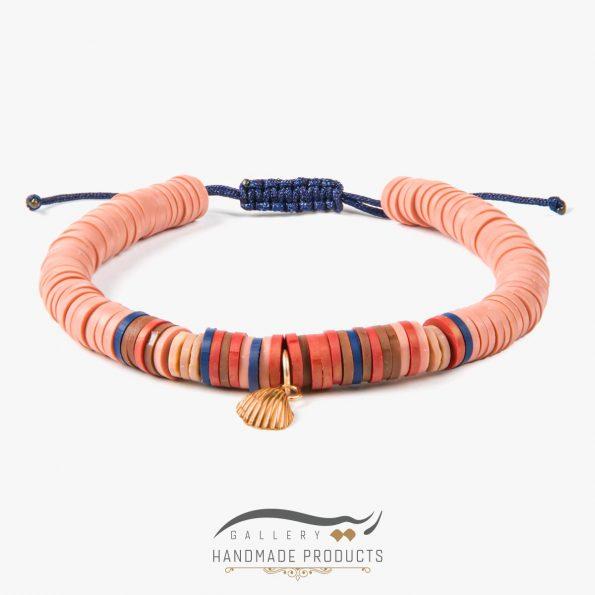 دستبند طلا زنانه ساحل سرخ