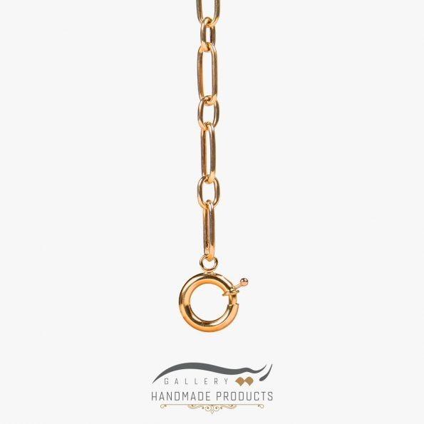 نمونه گردنبند طلا زنانه هرمیا
