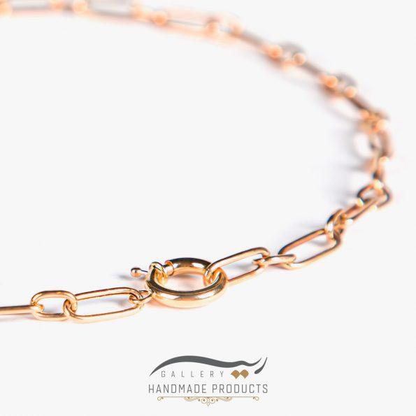 جدیدترین تصویر گردنبند طلا زنانه هرمیا