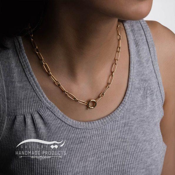 مدل گردنبند طلا زنانه هرمیا