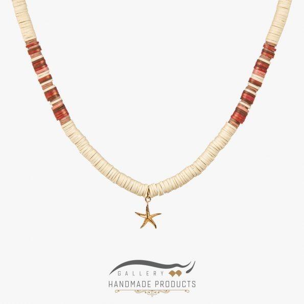 گردنبند طلا زنانه ساحلی