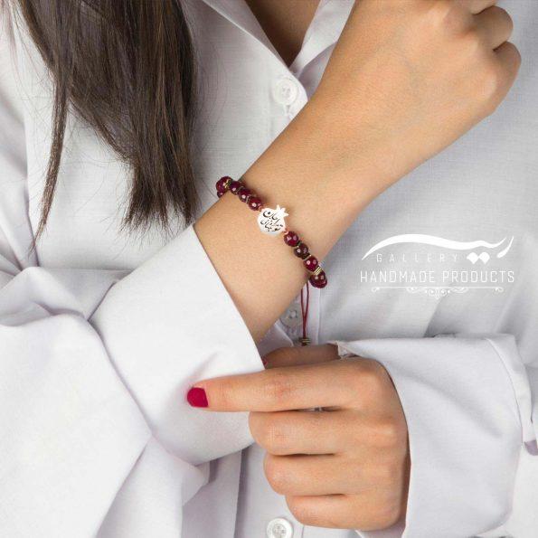 مدل دستبند نقره زنانه جان و جهان
