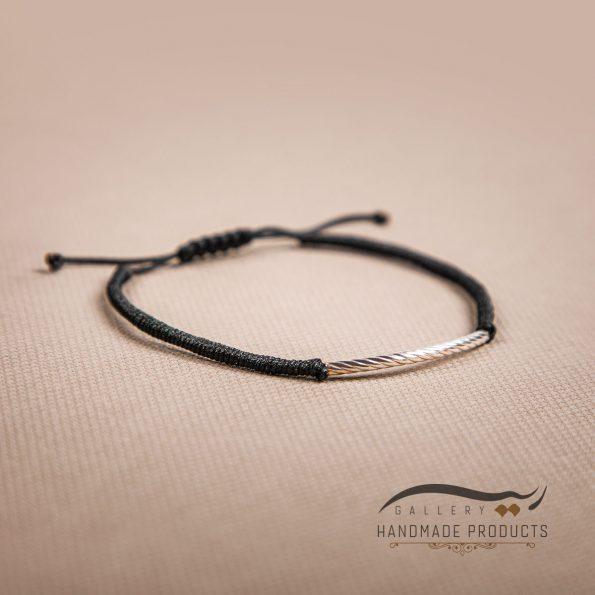 تصویر دستبند نقره زنانه آرک