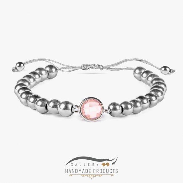 دستبند نقره زنانه رزادو