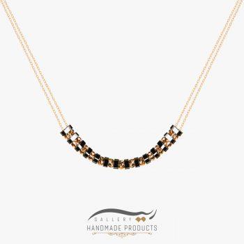 گردنبند طلا زنانه آسنات