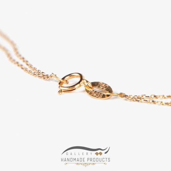 زنجیر طلا زنانه آسنات