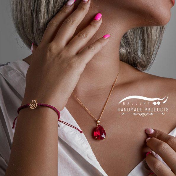 مدل دستبند طلا زنانه ناری