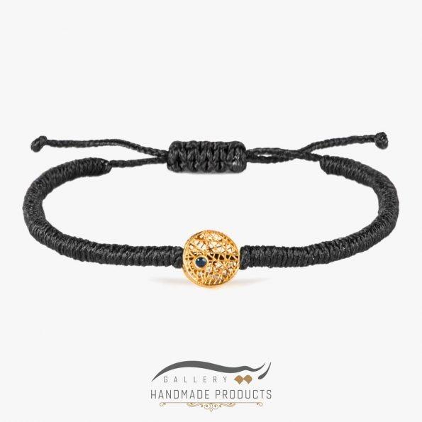 دستبند طلا زنانه اسکریبل