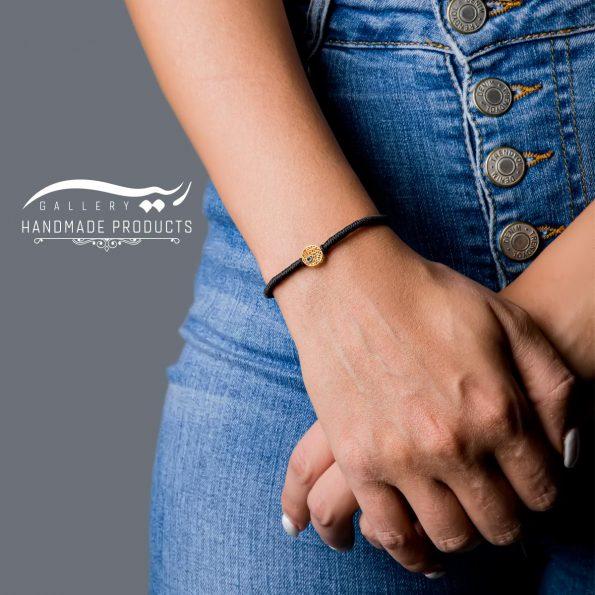 مدل دستبند طلا زنانه اسکریبل
