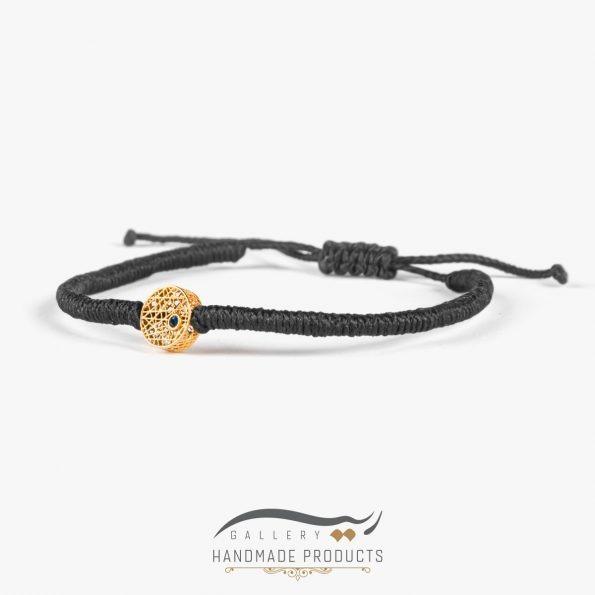 تصویر دستبند طلا زنانه اسکریبل