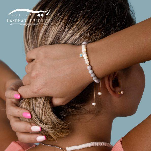 جدیدترین عکس دستبند طلا زنانه تیه