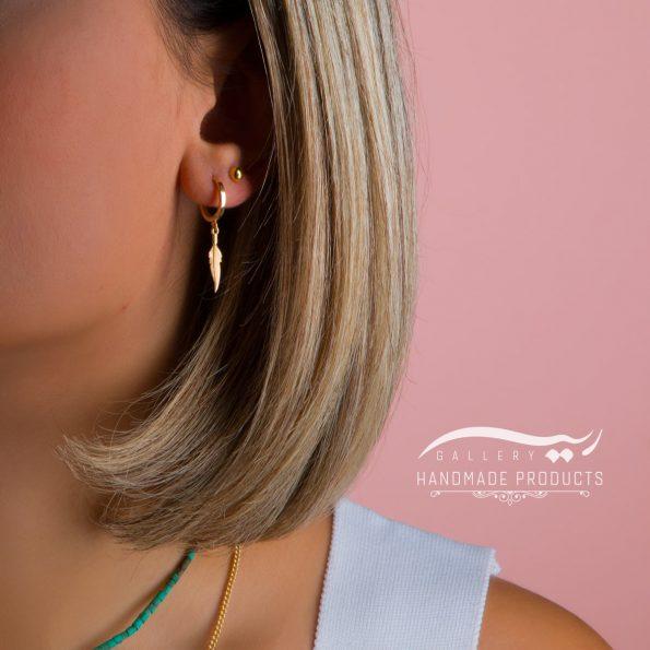 جدیدترین مدل گوشواره طلا زنانه پوکاهانتس