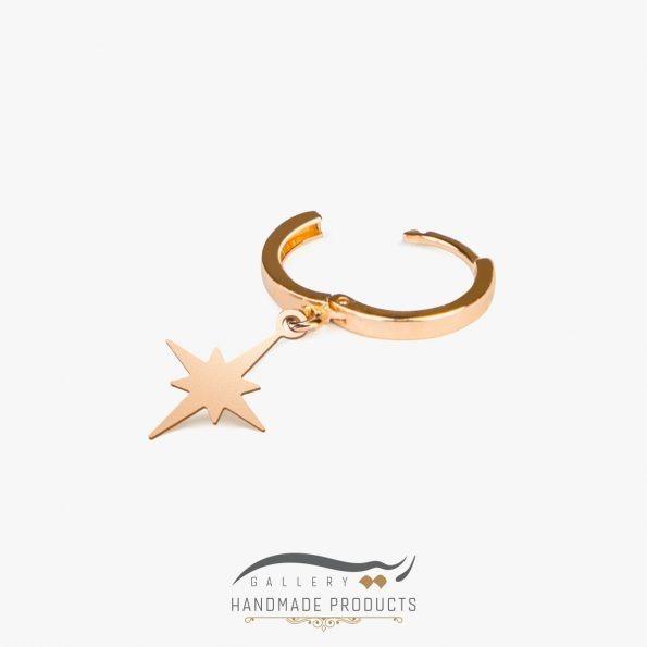 تصویر گوشواره طلا زنانه ترسا