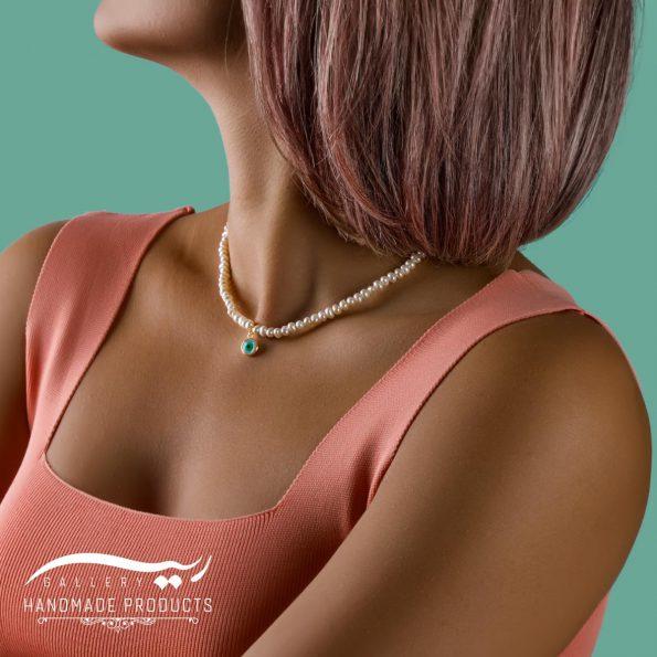 مدل گردنبند طلا زنانه بیانکو
