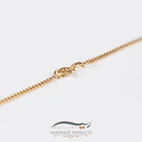 زنجیر طلا زنانه کارتیه
