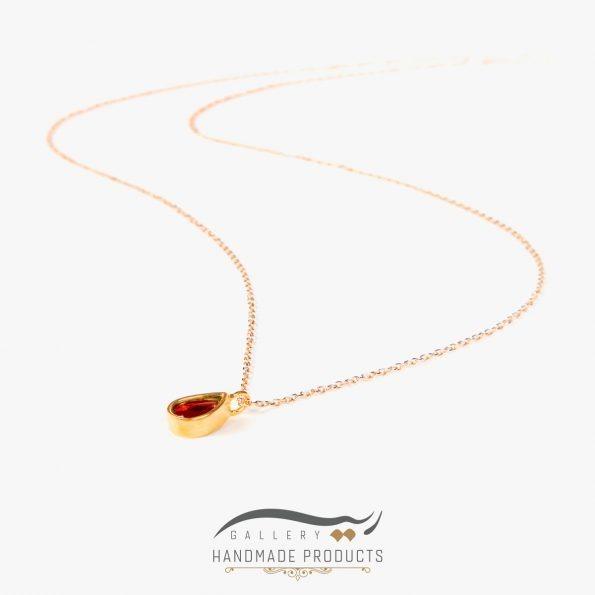 جدیدترین عکس گردنبند طلا زنانه مگان