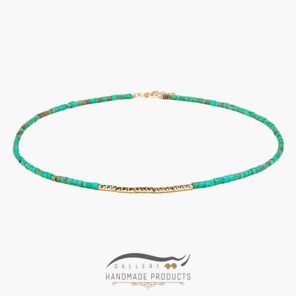 عکس گردنبند طلا زنانه مریتیس