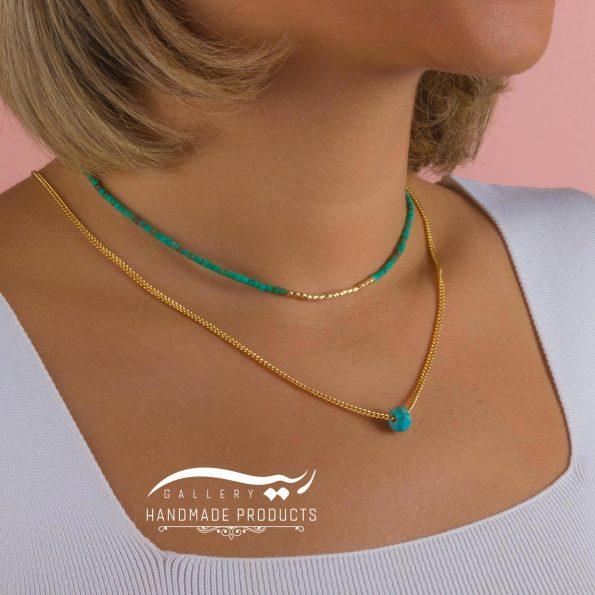 جدیدترین مدل گردنبند طلا زنانه مریتیس