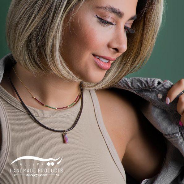 مدل گردنبند طلا زنانه مورنا