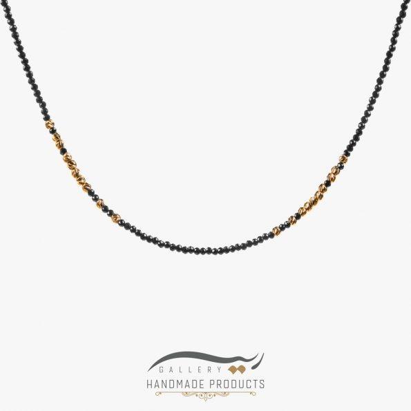 گردنبند طلا زنانه الهه شب