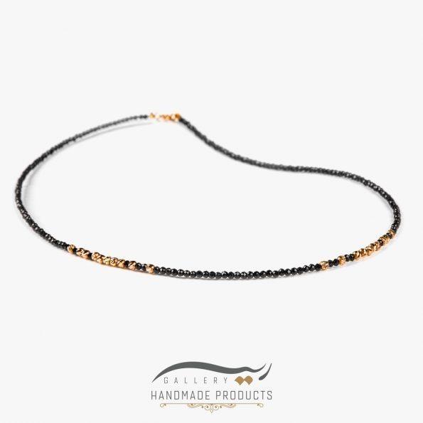 عکس گردنبند طلا زنانه الهه شب