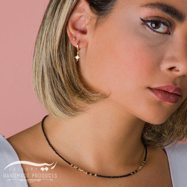 جدیدترین مدل گردنبند طلا زنانه الهه شب