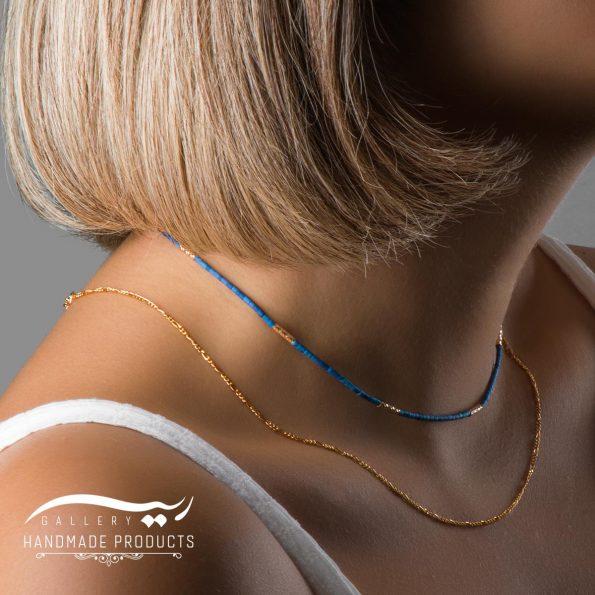 مدل گردنبند طلا زنانه آشوتب