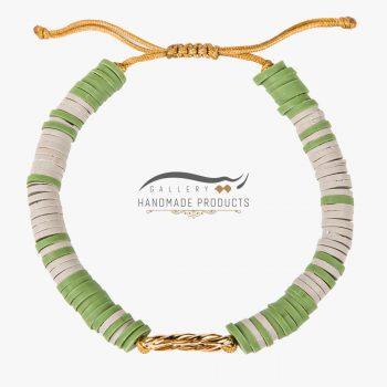 عکس دستبند طلا زنانه گیس بافت
