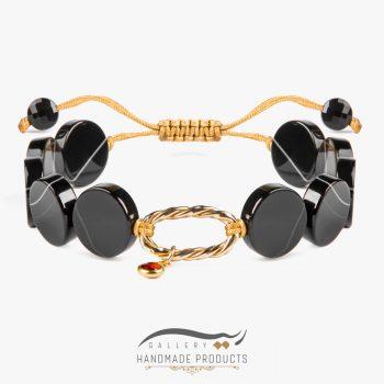 دستبند طلا زنانه لیلی شاه