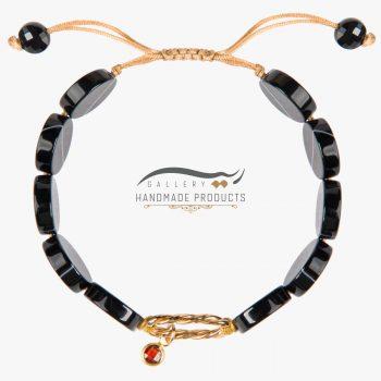 عکس دستبند طلا زنانه لیلی شاه