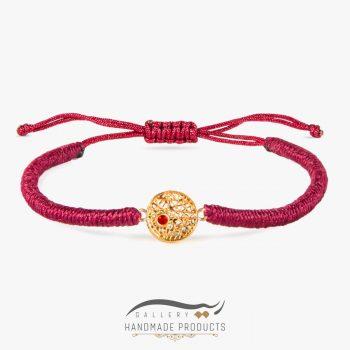 دستبند طلا زنانه اسکارلت