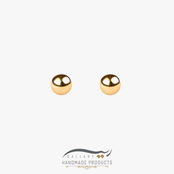 جدیدترین عکس گوشواره طلا زنانه توپی
