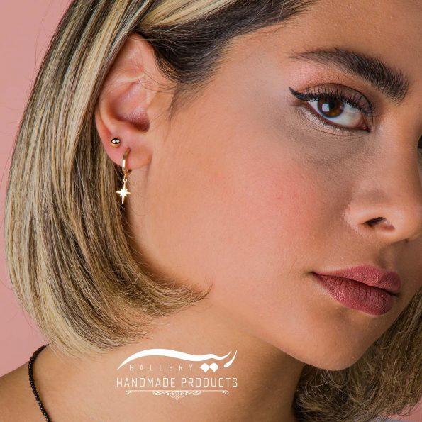 جدیدترین مدل گوشواره طلا زنانه توپی