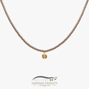 گردنبند طلا زنانه براون