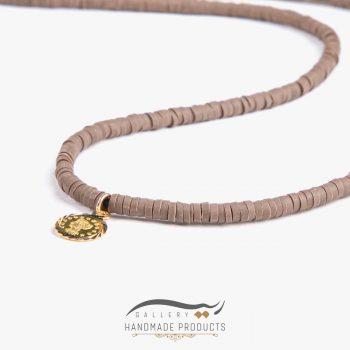 عکس گردنبند طلا زنانه براون