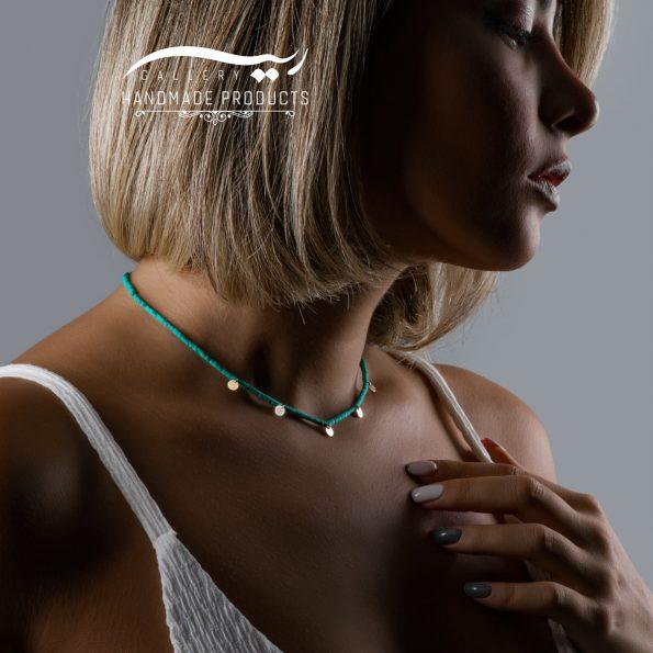 مدل گردنبند طلا زنانه مرهسانخ