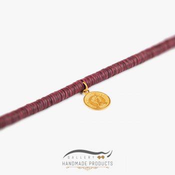 عکس گردنبند طلا زنانه ویولت