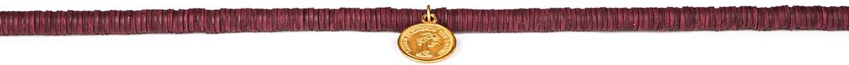 تصویر گردنبند طلا زنانه ویولت